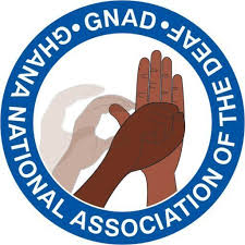 Ghana National Association of the Deaf (GNAD) logo