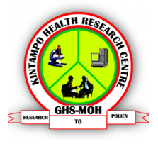 Kintampo Health Research logo